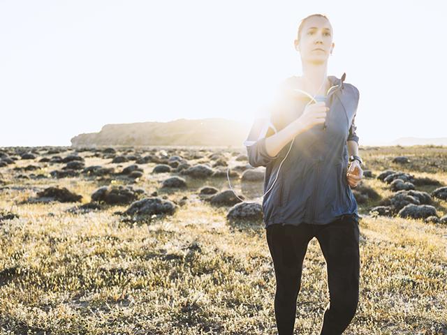 Woman running - weight loss too fast - womens health uk