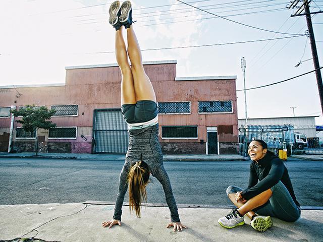 Boost metabolism - handstand - womens health uk