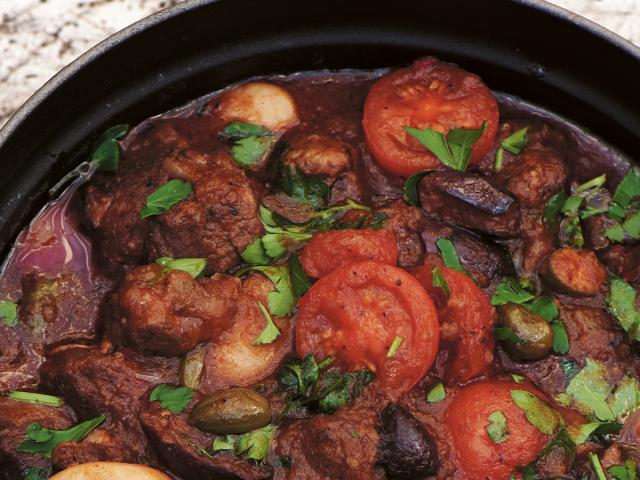 Healthy Dinner Party Ideas Part - 26: D04 Stew Lamb Butterbean 010