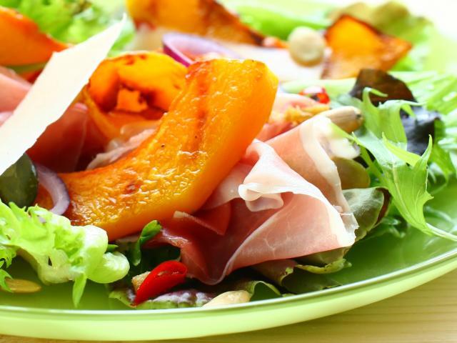 Pumpkin salad