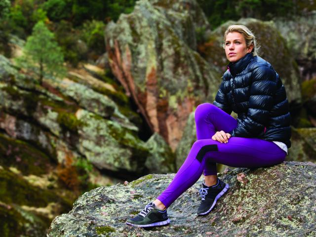 Roxy outdoor fitness model puffa