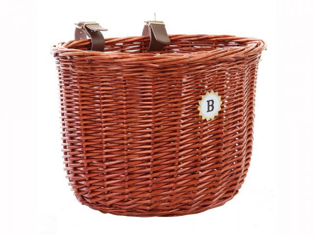 B oval bike basket