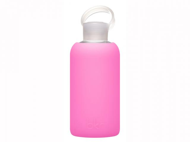 Bambi pink water bottle