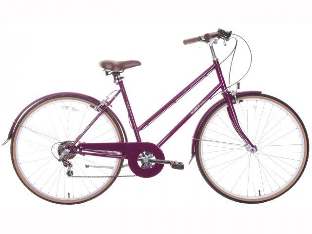 Bramble plum bobbin bike