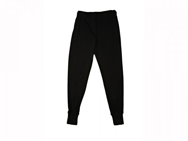 Halston heritage black peg trouser