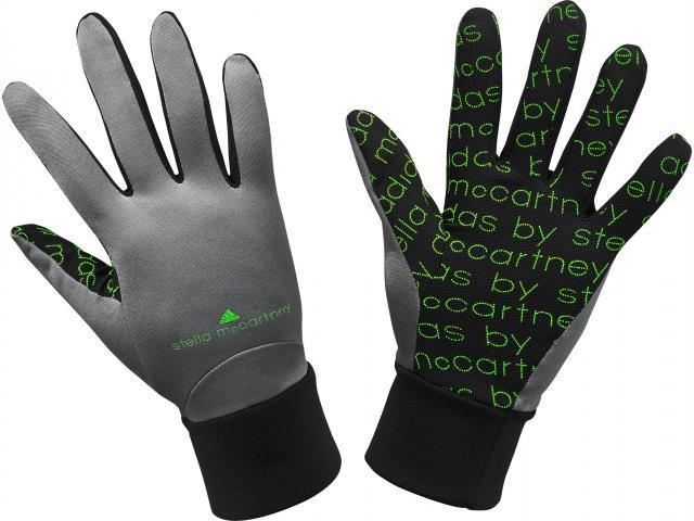 Stella mccartney cycle gloves black