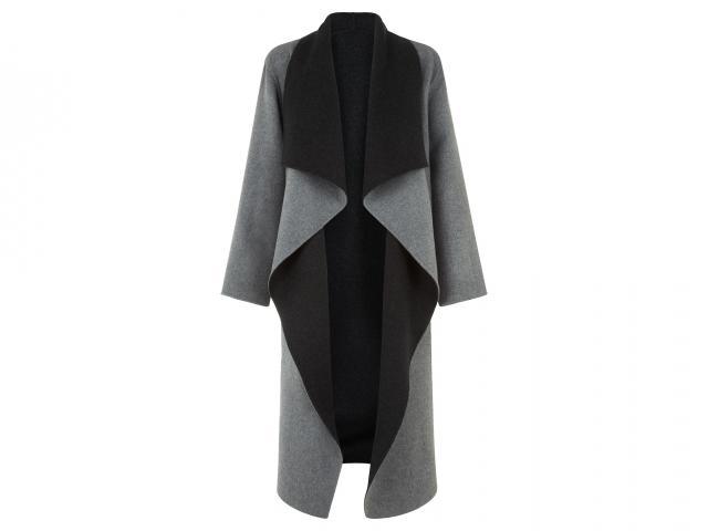 square hobbsbilly coat-grey melange