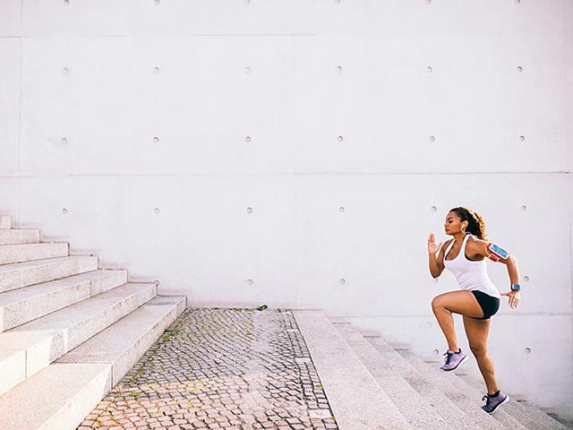 lose weight by running stairs