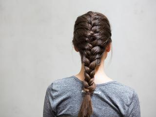 The Best Gym Hairstyles How To Do A Full French Plait