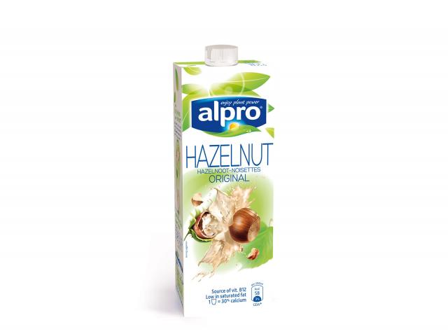 Alpro hazelnut milk