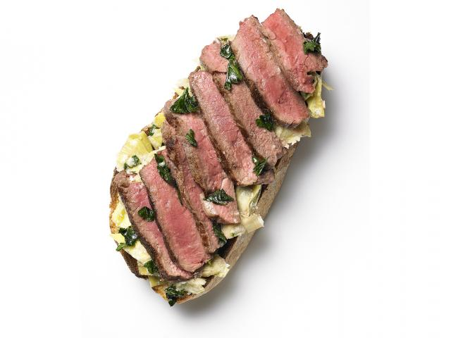 Detox steak sandwich