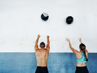 Medicine ball workout - womens health uk
