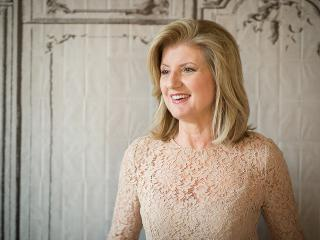 Arianna huffington - wellness - sleep- thrive global - womens health uk