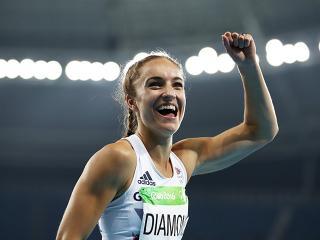 Emily diamond - 400m relay - rio - olympics - training - womens health uk