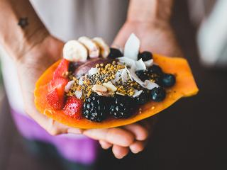 Smoothie in papaya - superfoods - womens health uk