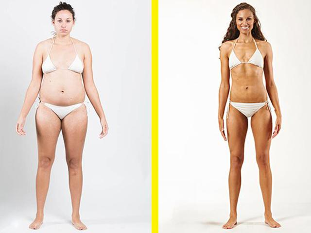 College athlete transformation - pic 1 - womens health uk