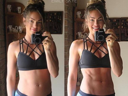 blogger, fitness trainer, abs
