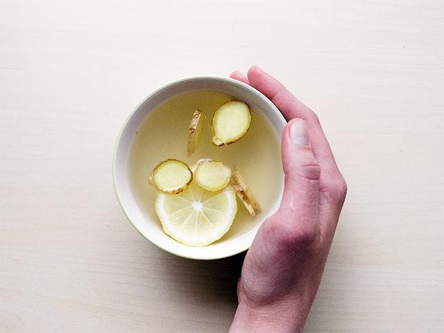 hot water lemon and ginger, detox diet, 5 day plan