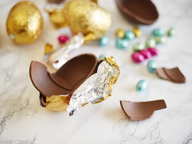 Chocolate easter egs