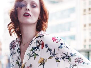 Karen Elson the new Jo Malone Girl