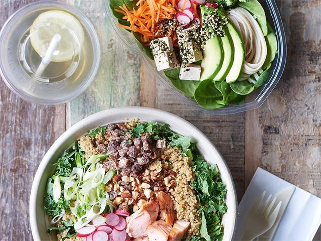 10 salad recipes grain bowls to enjoy at home or your desk