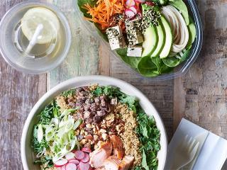 Healthy lunch ideas from squirrel