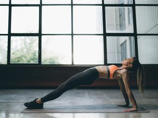 Woman excercising- getting too lean- womens health uk