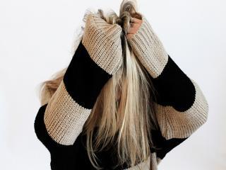 Woman tearing hair out- hair loss foods- womens health uk