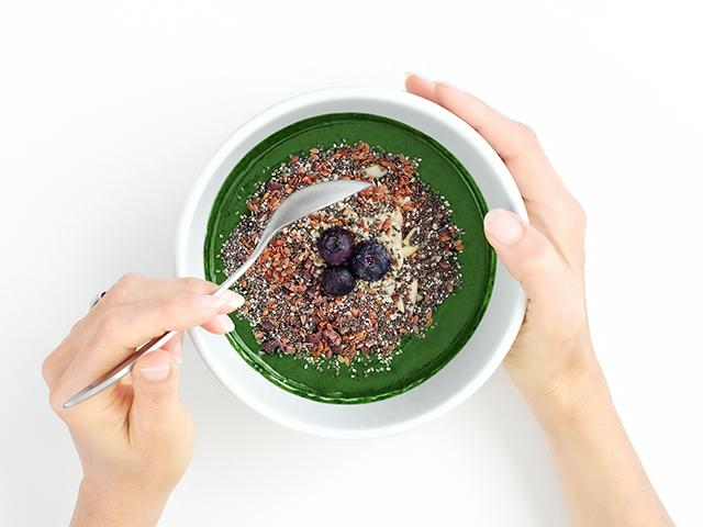 Smoothie bowl - vegan for a month - womens health uk