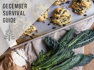 December 4 kale scones recipe - christmas