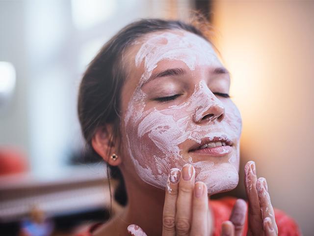 face mask, beauty, bathroom