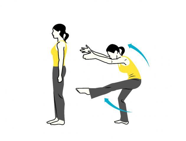 C-curve leg lift