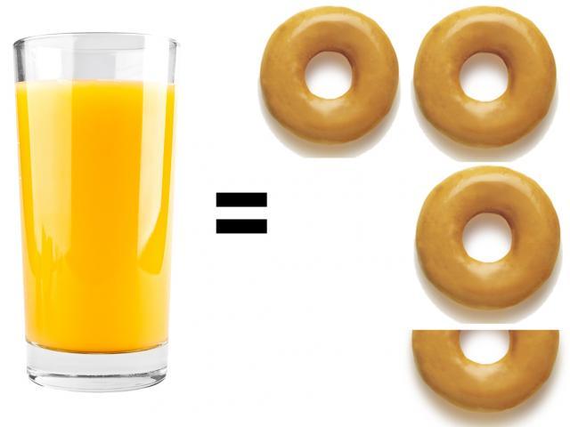 Pret orange juice vs krispy kremes