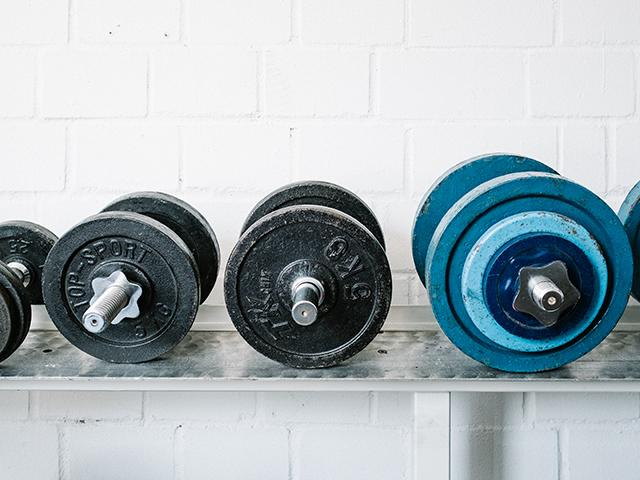 Strength training - weights - how to pick the right weight for your workout - womens health uk