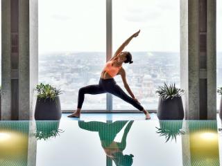 Shangri-la hotel- wellness programme