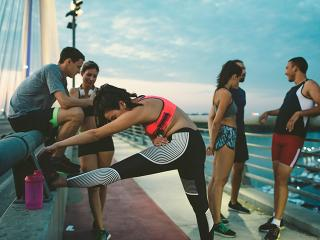 Running for beginners - stretching - mistakes - womens health uk