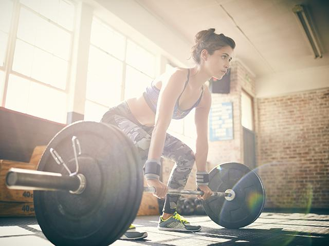 Lifting heavy - build muscle - weights - womens health uk