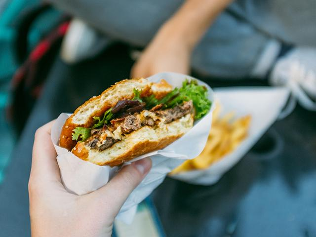 Burger - ate like boyfriend - womens health uk