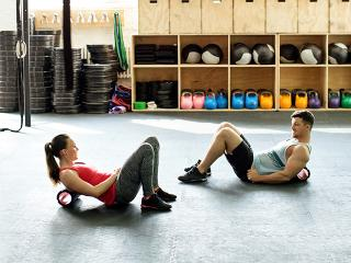 Foam rolling benefits - before or after workout - womens health uk