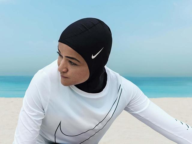 Woman in nike hijab - inspiring sport videos