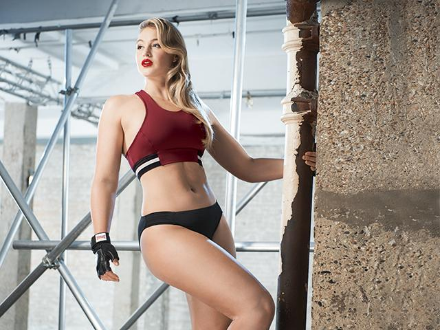 Iskra lawrence womens health cover photo shoot