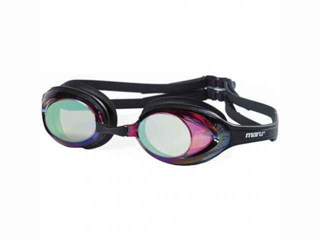 Maru sonic mirror anti fog swim goggle