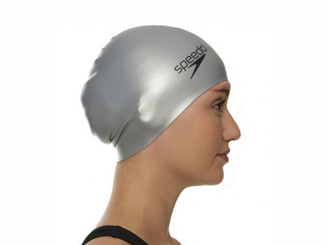 Speedo long hair swimming cap