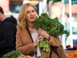 Kate winslet holding kale in new york
