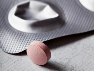 Pink pill medication