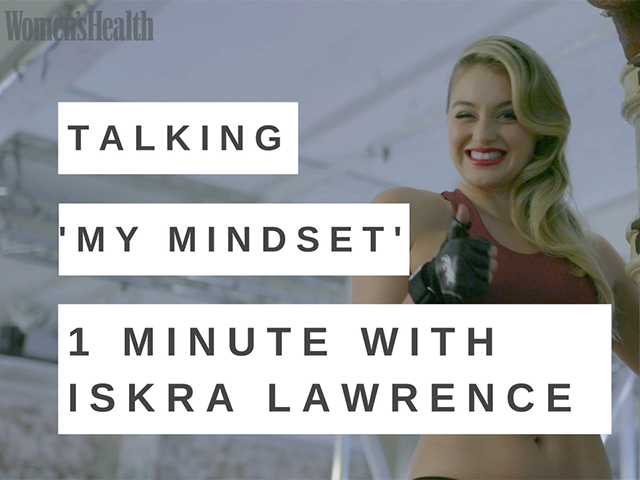 Iskra lawrence my mindset video