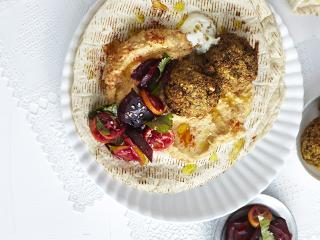 Big falafel lunch