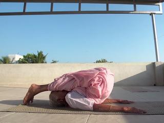98 year old granny yoga