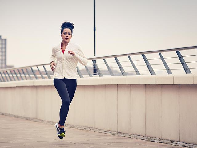 Nathalie emmanuel vegan out for a run