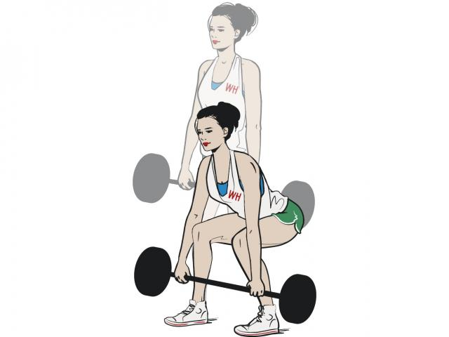 How To Do A Barbell Deadlift Womens Health